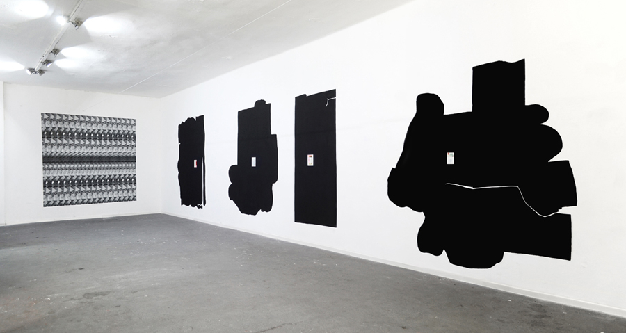 Exhibition at Kvaka 22, Belgrade, by Johannes Mundinger