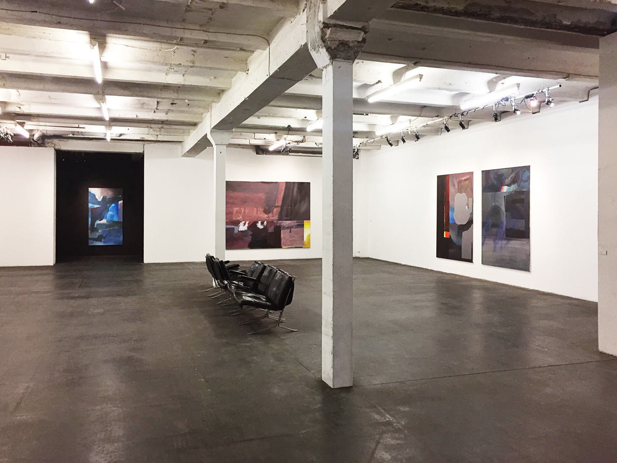 Exhibition view - Johannes Mundinger at Urban Spree Galerie Berlin