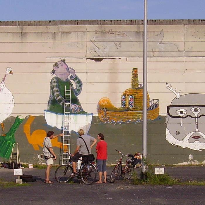 Murals - Wandmalerei berlin ...